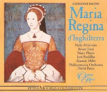 David Parry, Philharmonia Orchestra - Pacini: Maria regina d'Inghilterra [1998]
