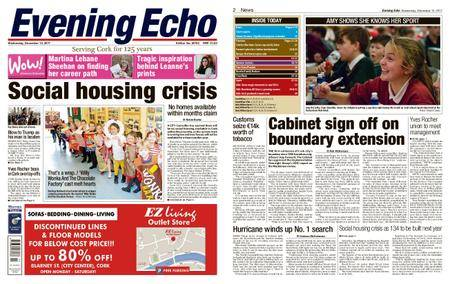 Evening Echo – December 13, 2017