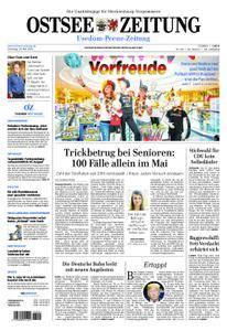 Ostsee Zeitung Wolgast - 29. Mai 2018