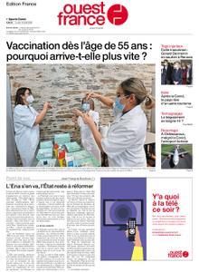 Ouest-France Édition France – 12 avril 2021