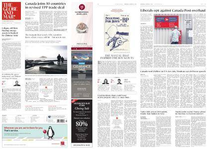The Globe and Mail – January 24, 2018