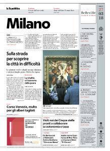 la Repubblica Milano - 27 Marzo 2018