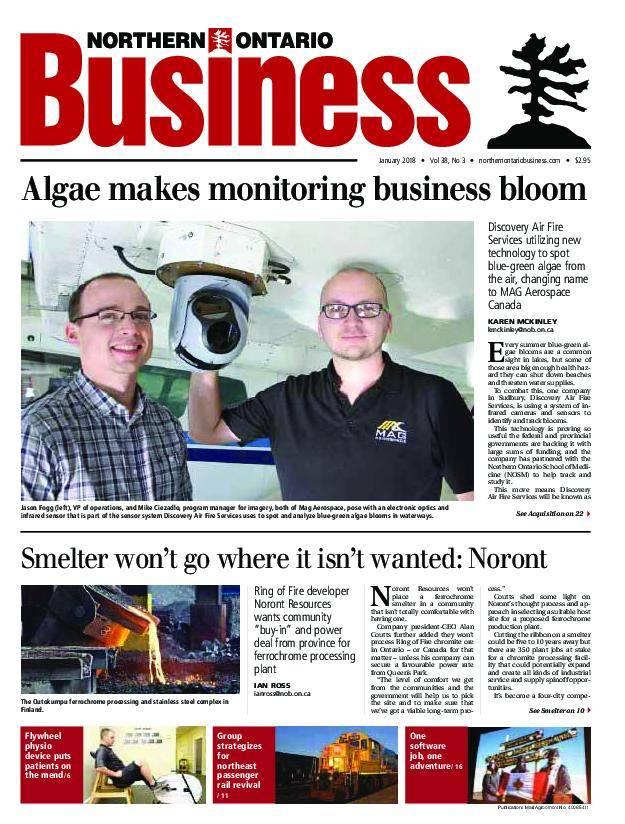 Northern Ontario Business – January 2018