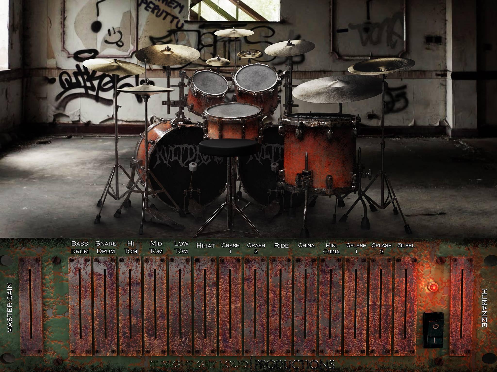 It Might Get Loud KVLT Drums WiN OSX