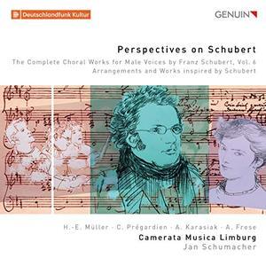 Camerata Musica Limburg & Jan Schumacher -  The Complete Choral Works for Male Voices by Franz Schubert, Vol. 6 (2019)