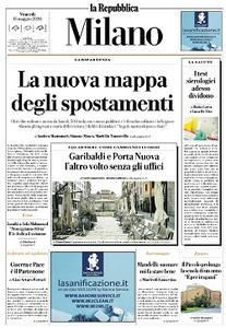 la Repubblica Milano - 15 Maggio 2020