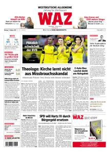 WAZ Westdeutsche Allgemeine Zeitung Oberhausen-Sterkrade - 11. Februar 2019