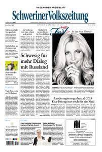 Schweriner Volkszeitung Hagenower Kreisblatt - 18. April 2018