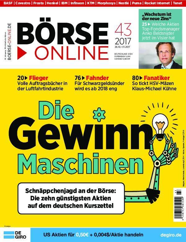 Börse Online - 26. Oktober 2017