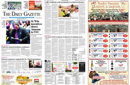 The Daily Gazette – November 14, 2018