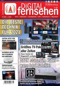 Digital Fernsehen - Januar 2021