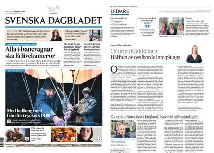 Svenska Dagbladet – 16 augusti 2019