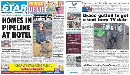 Shropshire Star Shrewsbury Edition – October 15, 2019