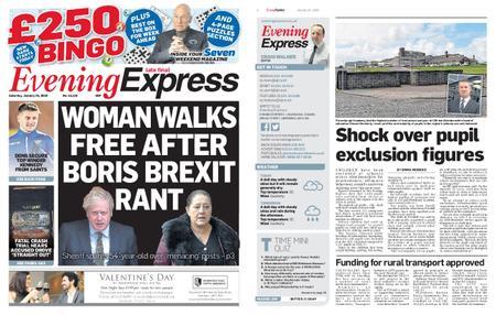 Evening Express – January 25, 2020