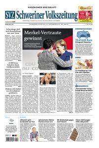 Schweriner Volkszeitung Hagenower Kreisblatt - 08. Dezember 2018