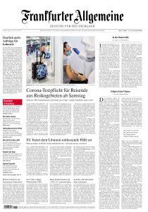 Frankfurter Allgemeine Zeitung - 7 August 2020