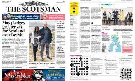 The Scotsman – January 22, 2019