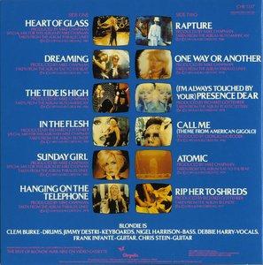 Blondie – The Best Of Blondie (1981) 2006 Remastered, Japan Mini-LP [TOCP-67896]