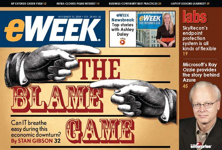eWeek Magazine 10 Nov 2008