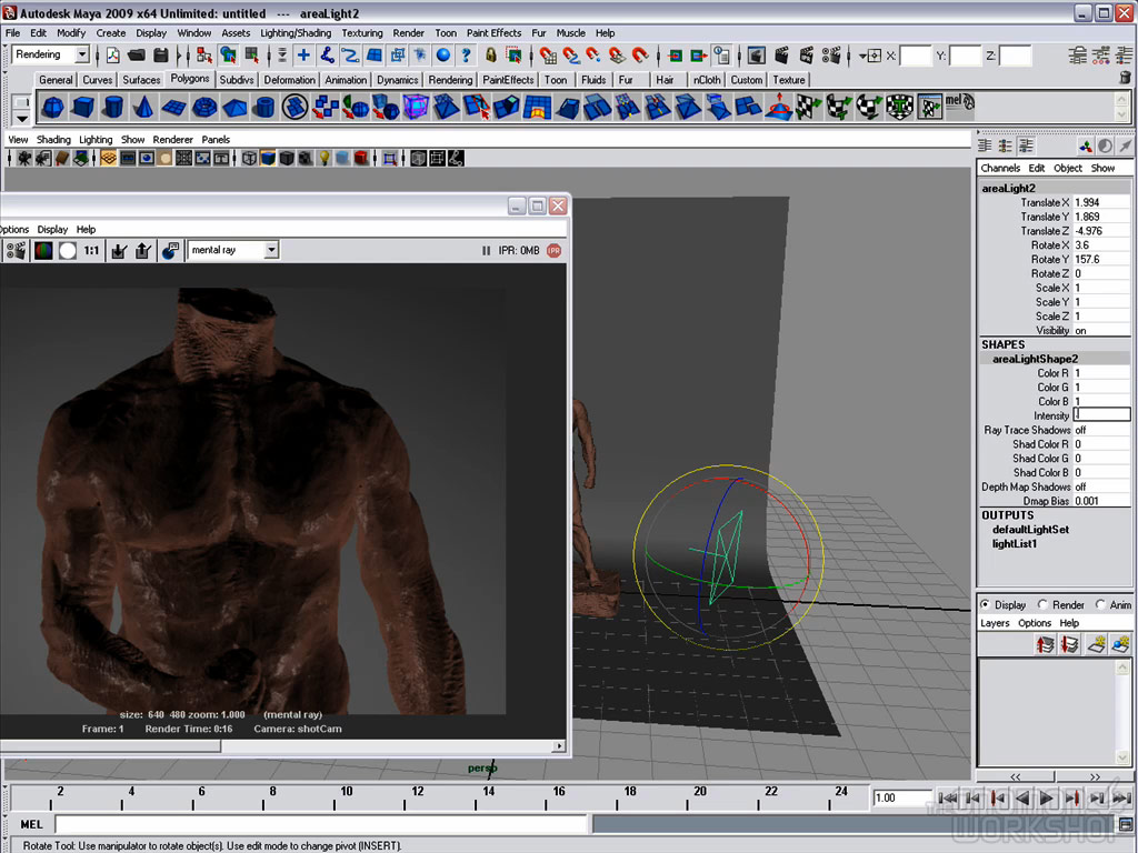 The Gnomon Workshop - Creating a Photo Realistic Render in