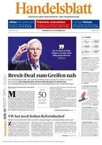 Handelsblatt - 30. November 2017