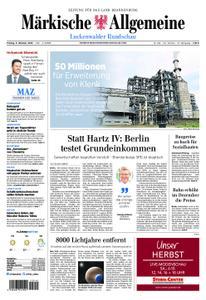 Märkische Allgemeine Luckenwalder Rundschau - 05. Oktober 2018