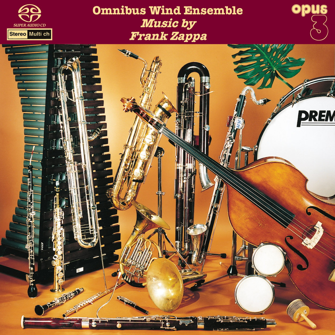Omnibus Wind Ensemble - Music By Frank Zappa (1995/2014) [Official