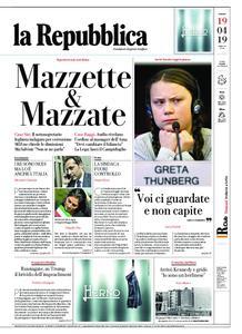 la Repubblica – 19 aprile 2019