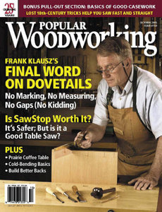 Popular Woodworking Magazine Issue 150