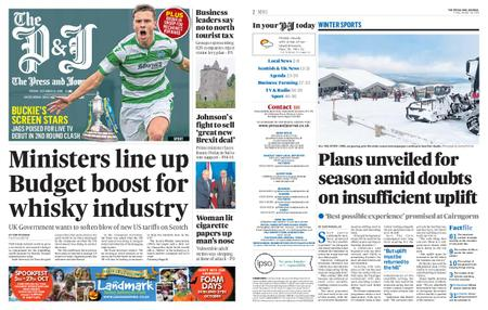 The Press and Journal Moray – October 18, 2019