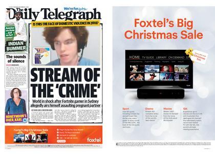 The Daily Telegraph (Sydney) – December 11, 2018