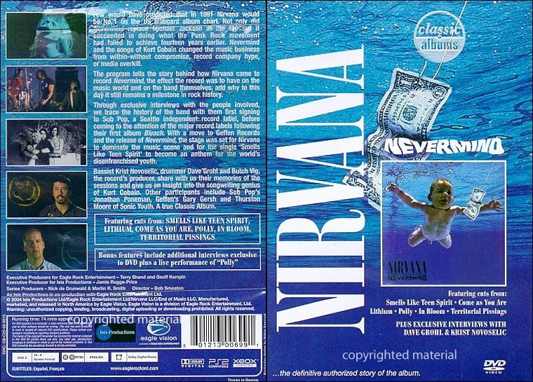Kurt Cobain & Nirvana 1993 2008 [DVD pack] AvaxHome