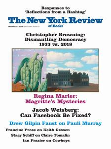 The New York Review of Books - October 25, 2018