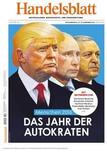 Handelsblatt - 16. Dezember 2016