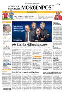 Solinger Morgenpost – 21. August 2019