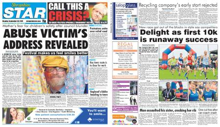 Shropshire Star Shrewsbury Edition – September 30, 2019