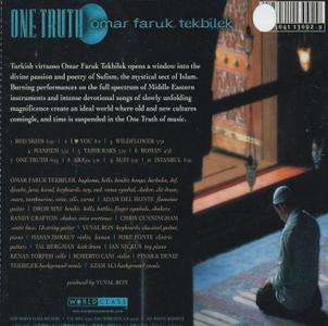 OMAR FARUK TEKBILEK - One truth