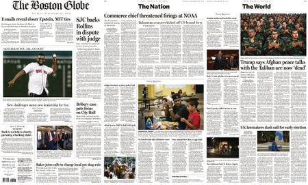 The Boston Globe – September 10, 2019