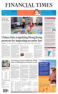 Financial Times Middle East - May 22, 2020