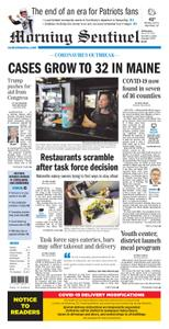 Morning Sentinel – March 18, 2020