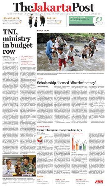 The Jakarta Post - February 8, 2017