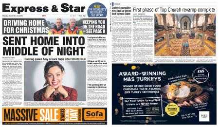 Express and Star City Edition – December 23, 2019