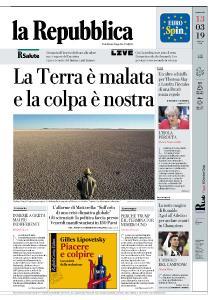 la Repubblica - 13 Marzo 2019