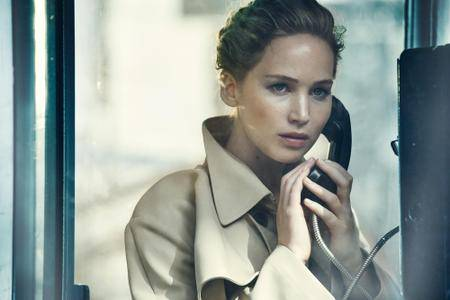 Jennifer Lawrence by Peter Lindbergh for Vanity Fair December 2016