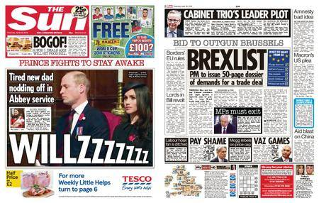 The Sun UK – 26 April 2018