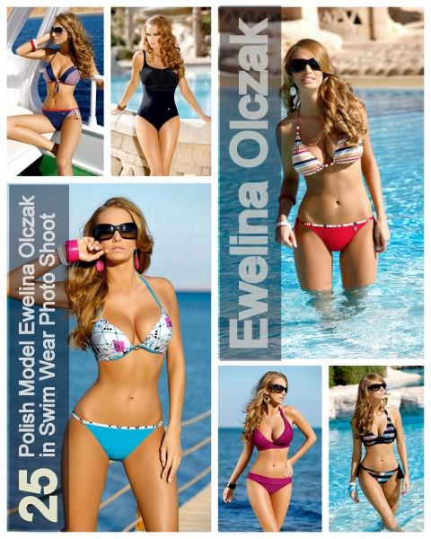 25 Polish Model Ewelina Olczak in Swim Wear Photo Shoot