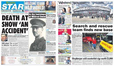Shropshire Star Shrewsbury Edition – January 13, 2018
