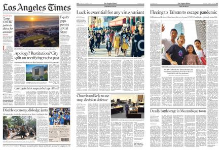Los Angeles Times – March 29, 2021