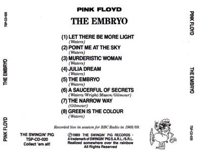 Pink Floyd The Embryo 1989 Swingin Pig Avaxhome
