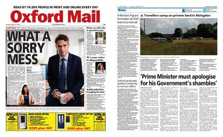 Oxford Mail – August 18, 2020
